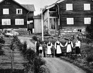 Bjerkebæk Sigrid Undsets hjem, 1926-27