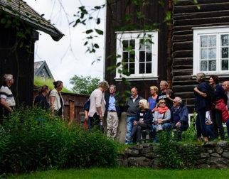 En omvisning i Sigrid Undsets hjem Bjerkebæk på Lillehammer er en unik kulturopplevelse. Foto Ian Brodie.