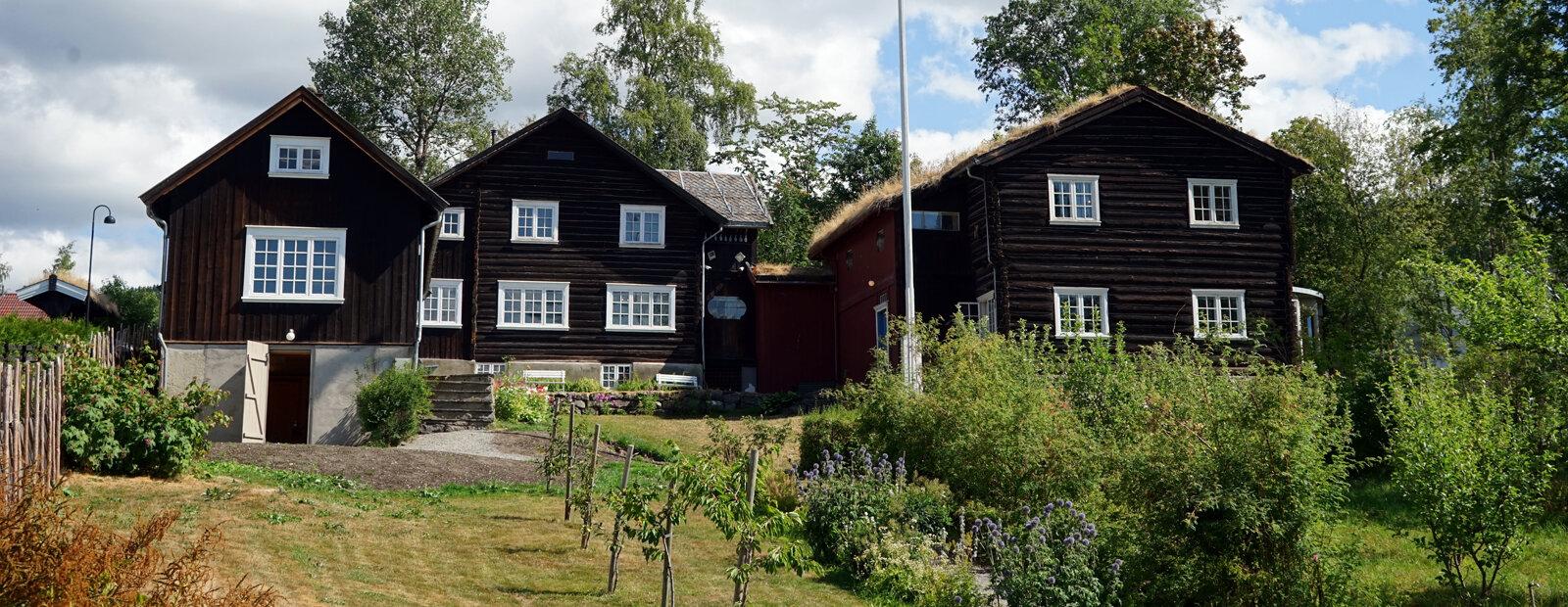 Sigrid Undset's home Bjerkebæk in Lillehammer.