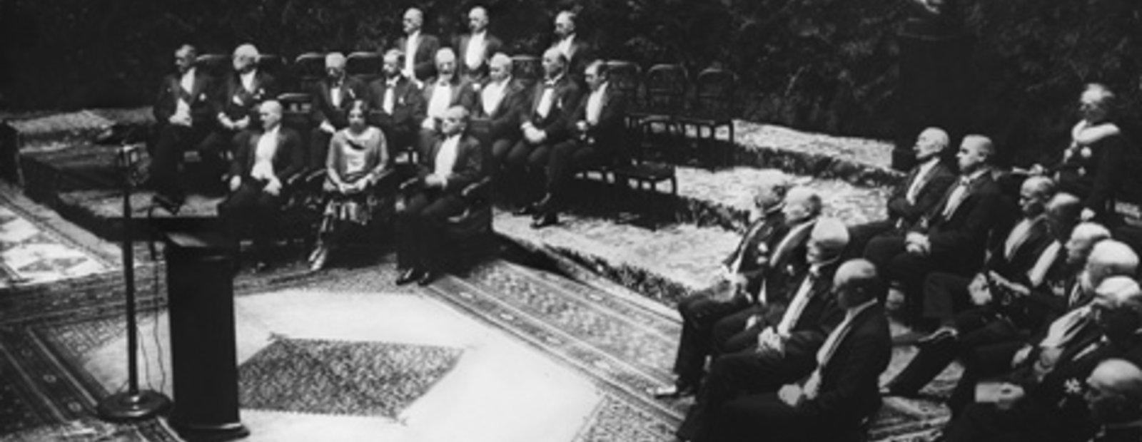 Nobelprisseremonien