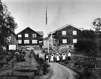 Bjerkebæk ca 1925