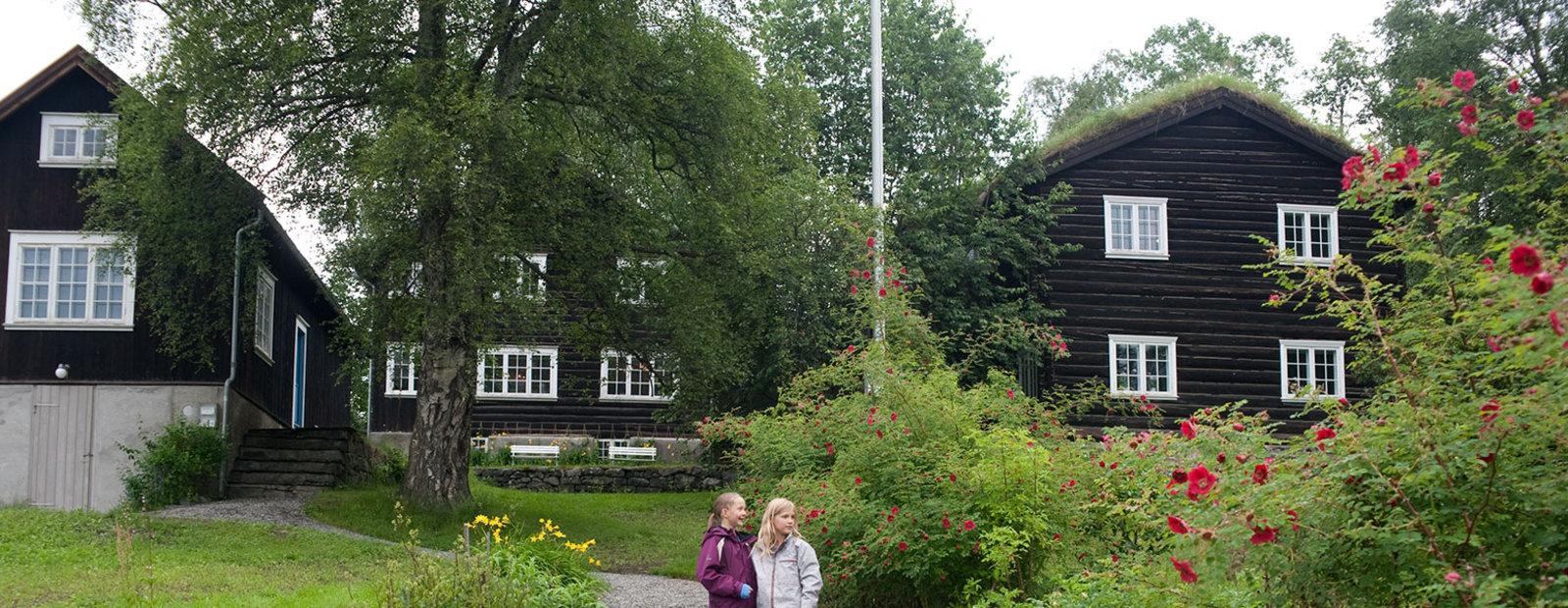 Sigrid Undsets hjem Bjerkebæk